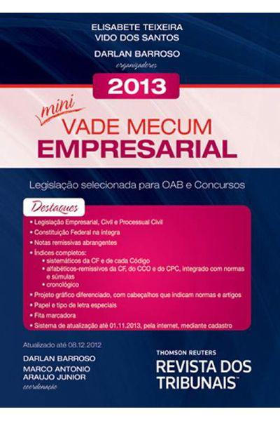 Mini Vade Mecum Empresarial - 1ª Ed. 2013