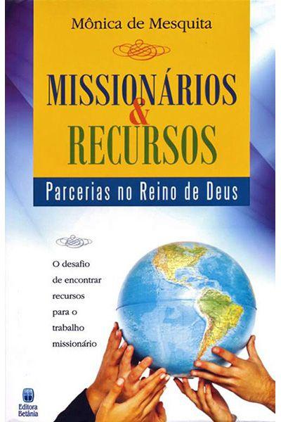 Missionários & Recursos - Parcerias no Reino de Deus