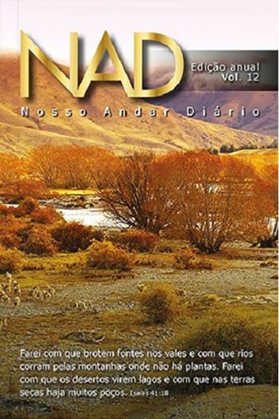 Nosso Andar Diário - Edição Anual - Vol. 12