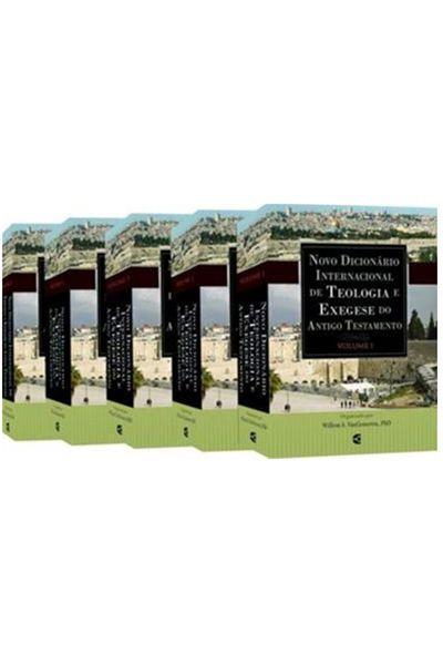 Novo Dicionário Internacional de Teologia e Exegese do Antigo Testamento - 5 Volumes