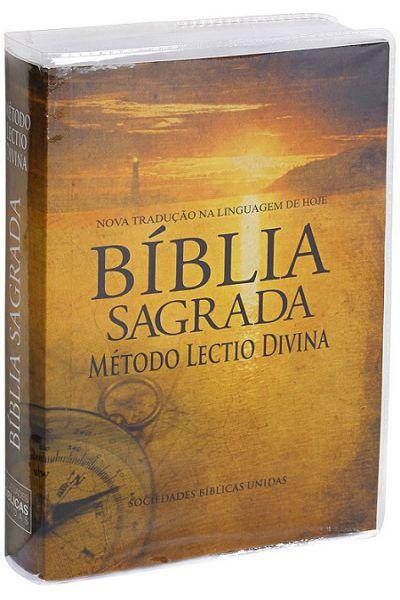 NTLH040ECLD - Bíblia Sagrada Com Método Lectio Divina - Brochura - Bússola