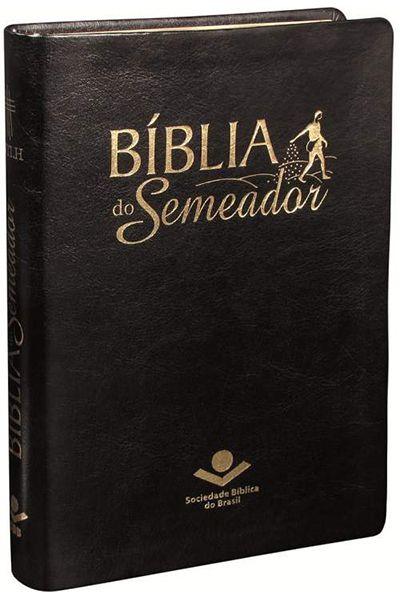 NTLH065BS - Bíblia do Semeador - Luxo - Preta