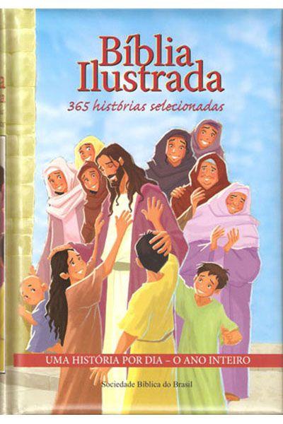NTLH93P1 - Bíblia Ilustrada 365 Histórias Selecionadas - Nova Edição