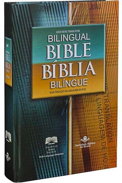 NTLH-GNT63 - Bíblia Bilíngue - Capa Dura