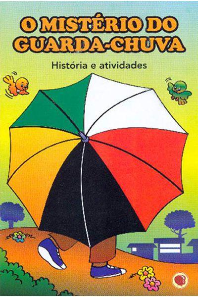 O Mistério do Guarda-Chuva - História e Atividade - Para Colorir