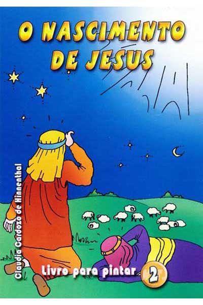 O Nascimento de Jesus - Livro Para Pintar 2