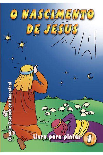 O Nascimento de Jesus - Livro Para Pintar