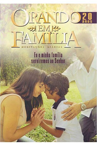 Orando em Família - Meditações Diárias - 2018 - Ed. de Bolso