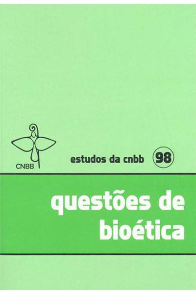 Questões de bioética - 98
