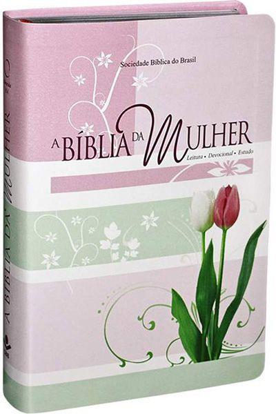 RA067BMRA2 - A Bíblia da Mulher - Novo Formato - Tulipa