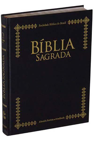 RA073 - Bíblia Sagrada de Púlpito - Edição com Letra Extragigante