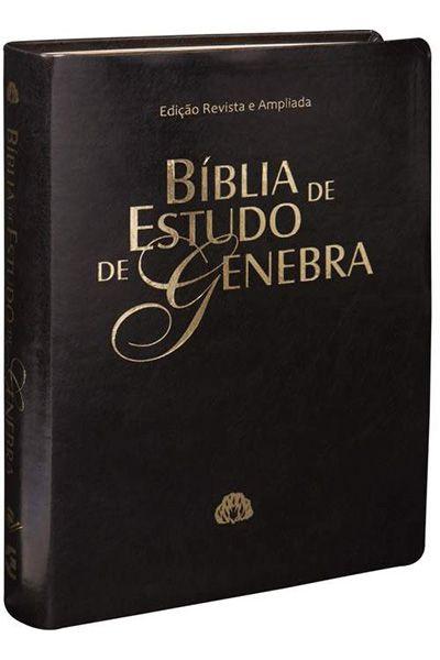 RA085BGRA - Bíblia de Estudo de Genebra - Preta