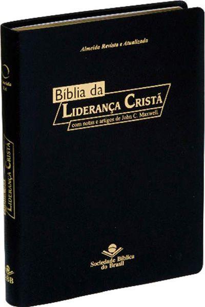 RA087BLC - Bíblia da Liderança Cristã - Preta