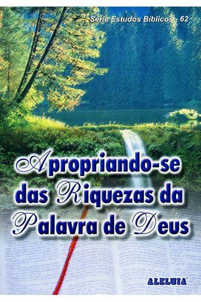RED Aleluia - Adultos nº 62 - Apropriando-se das Riquezas da Palavra de Deus