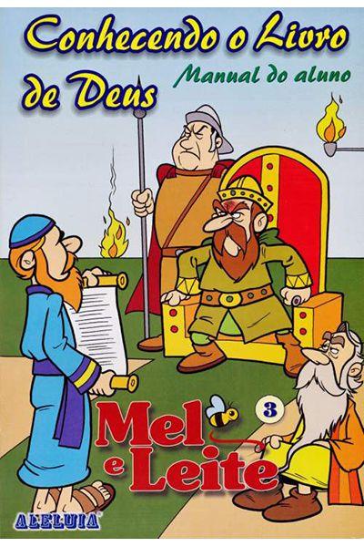 RED Aleluia - Aluno - Mel e Leite nº 03 - Conhecendo o Livro de Deus