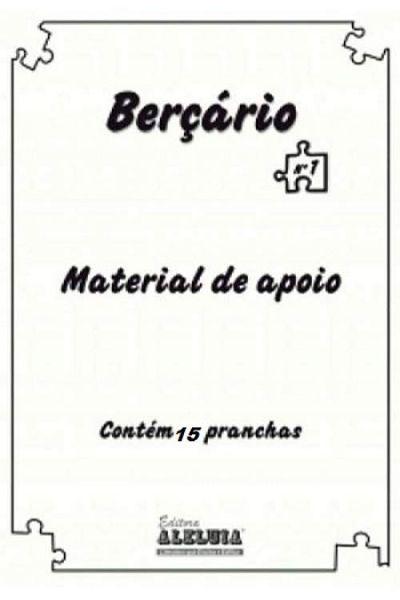RED Aleluia - Berçário - Material de Apoio nº 01 - Deus Me Fez Tão Especial