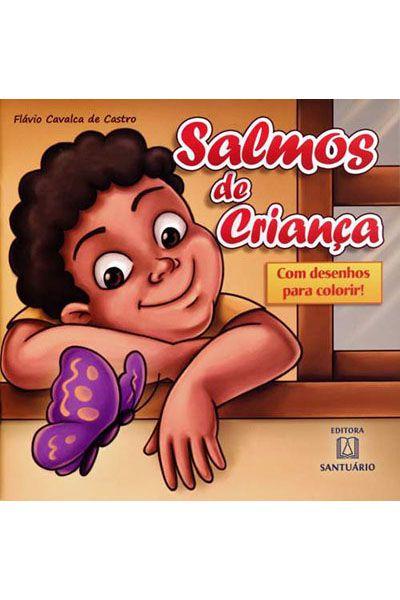 Salmos de Crianças - Com Desenhos Para Colorir