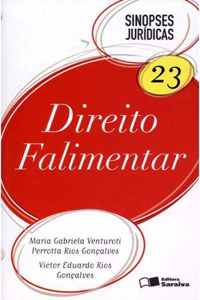 Sinopses Jurídicas 23 - Direito Falimentar - 5ª Ed. 2012