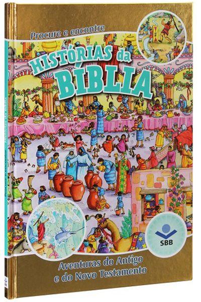 TNL580PPE - Procure e Encontre Histórias da Bíblia - Capa Dura