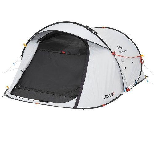 d0d15eac0 Barraca De Trilha Camping Trekking 2 Seconds Fresh Black 2 Pessoas -  FLORIPA WEAR SPORTS ADVENTURE