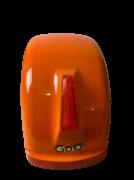 Para-lama Traseiro laranja para scooter elétrica citycoco