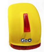 Para-lama Traseiro amarelo fosco com setas para scooter elétrica citycoco