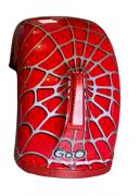 Para-lama Traseiro aranha vermelho com setas para scooter elétrica citycoco
