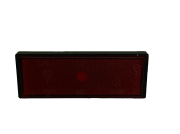 Refletor do para-lama traseiro scooter eletrica citycoco