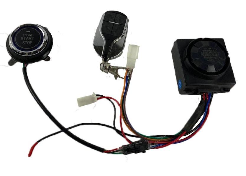 Alarme com botao start com controle remoto scooter eletrica citycoco 60V
