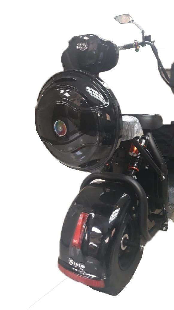 Baú de PVC para scooter elétrica citycoco