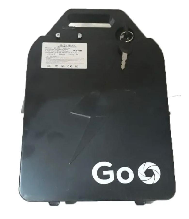 Bateria 60V 23Ah - maleta - Removível para scooter elétrica citycoco