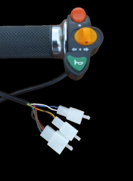 Botões (Setas, farol e buzinas) para scooter elétrica citycoco