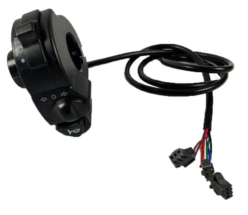 Botões (Setas, farol e buzinas) scooter elétrica citycoco x14 chopper