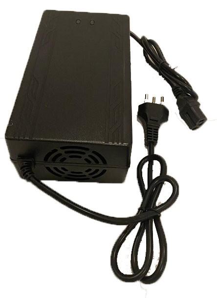 Carregador de bateria 60v 5 Amp para scooter elétrica citycoco
