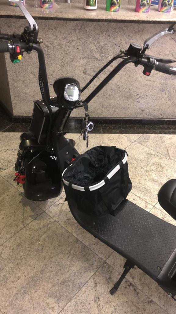 Cesta Removível para scooter elétrica citycoco