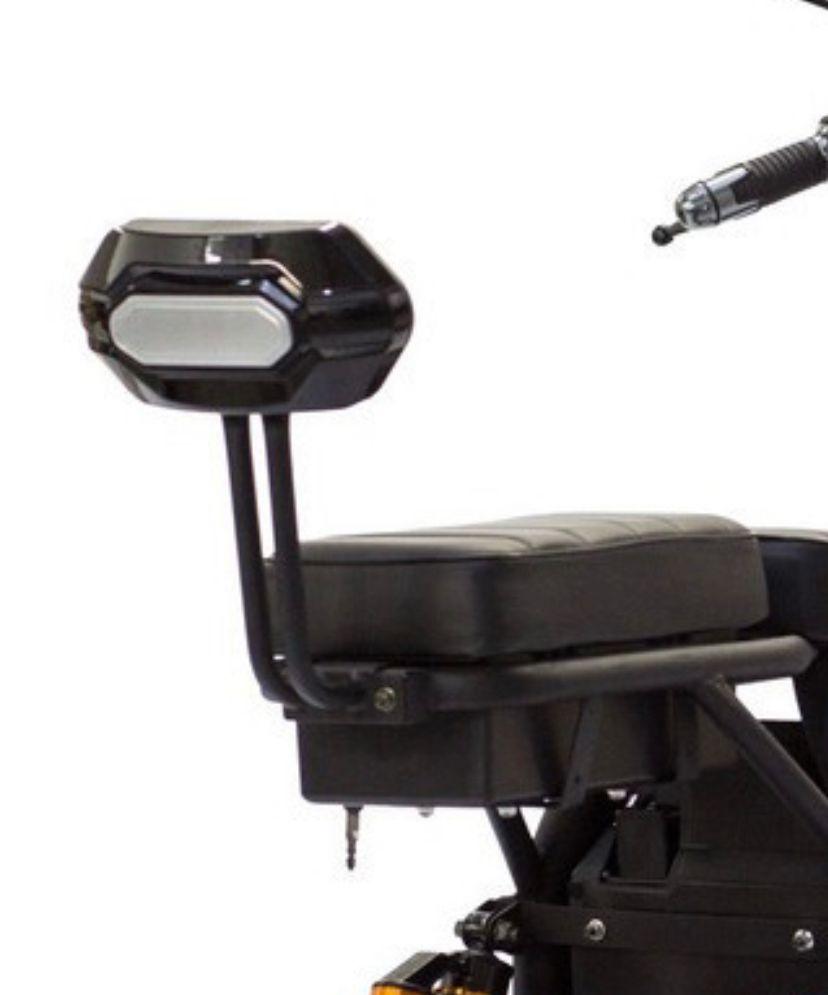 Encosto de banco para scooter elétrica citycoco - X10 X11 X12