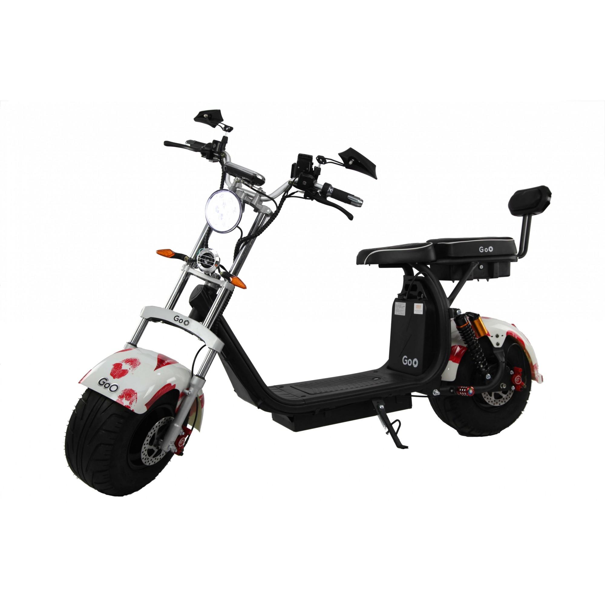 Jogo de Para-lamas beijo com seta scooter elétrica citycoco