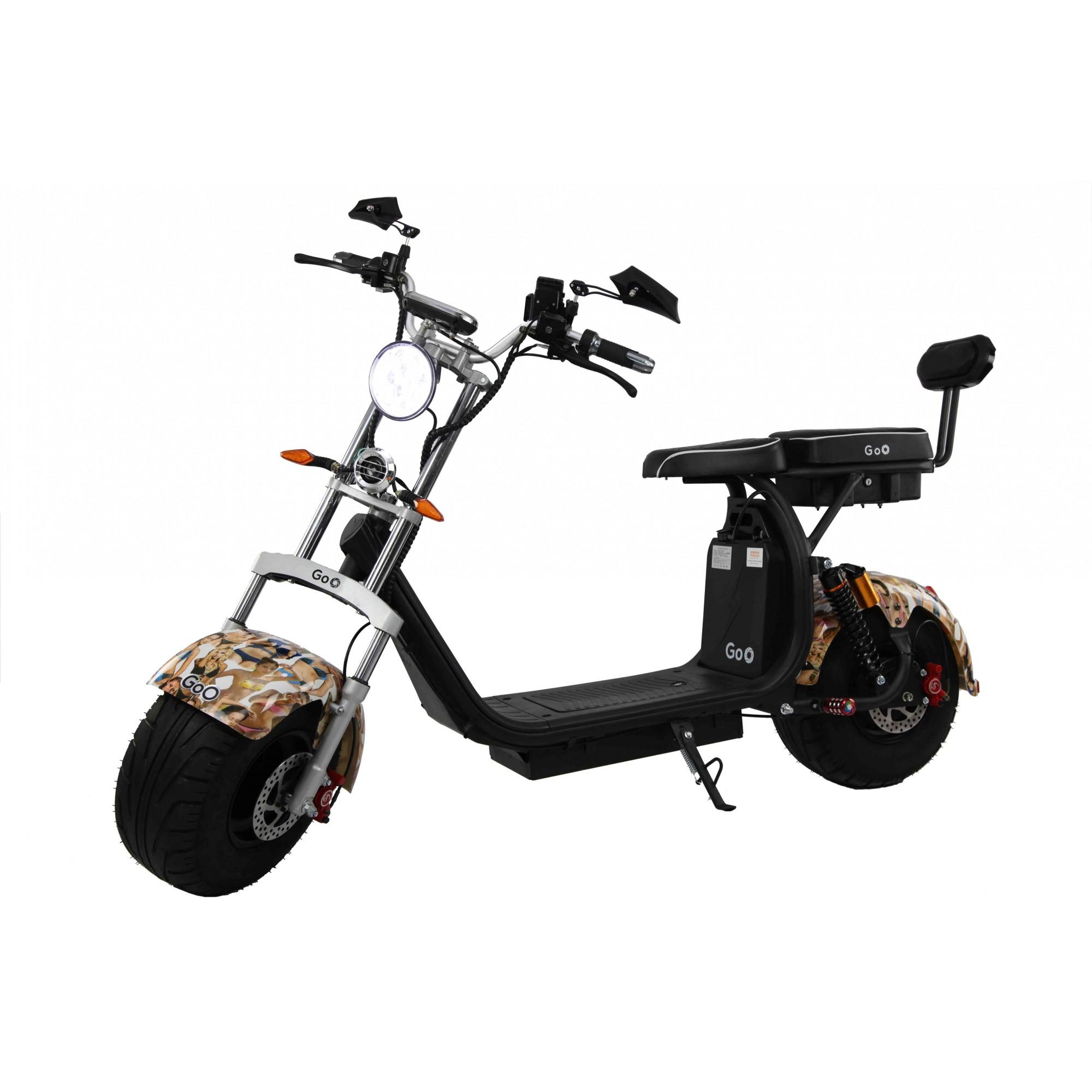 Jogo de Para-lamas Bikine com seta scooter elétrica citycoco