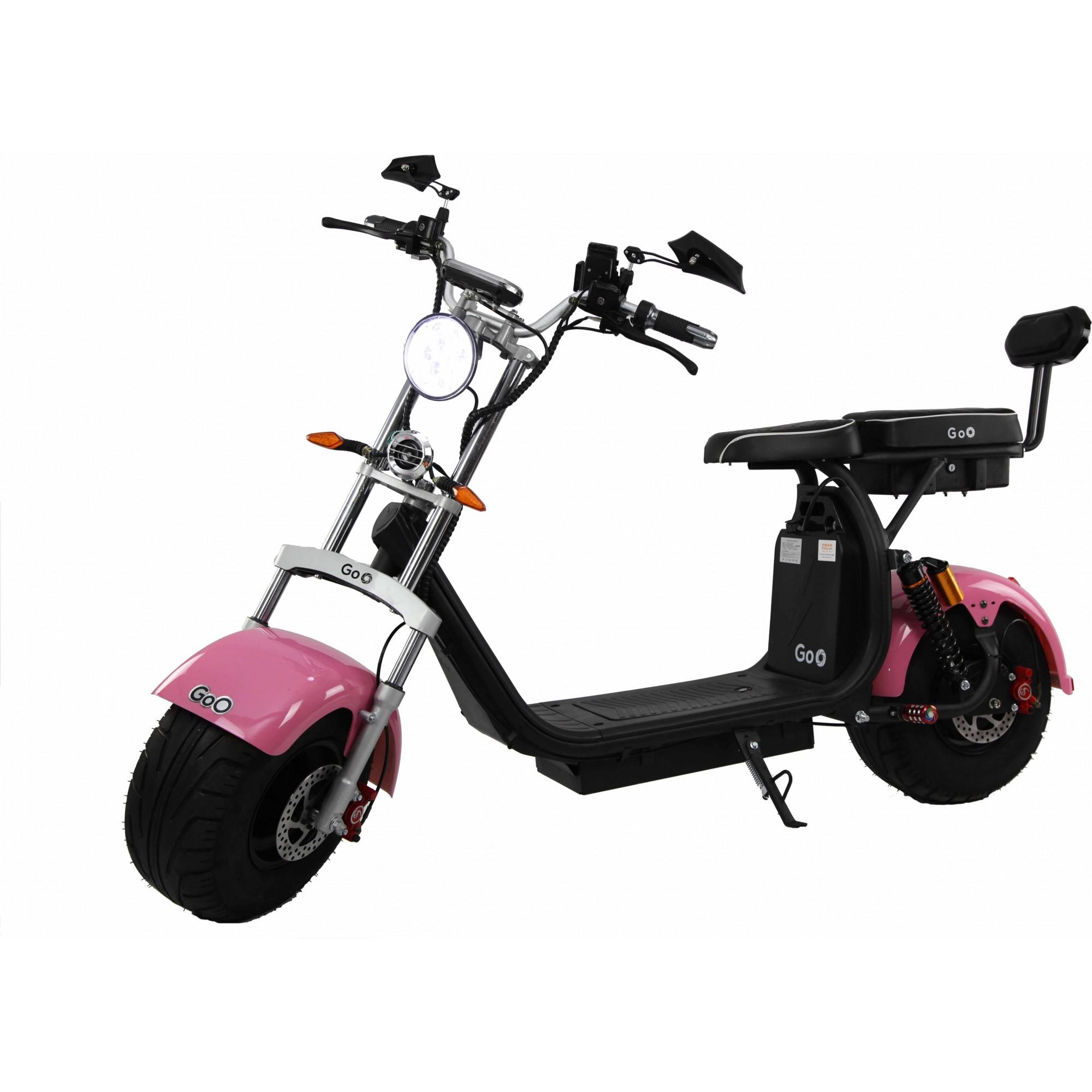 Jogo de Para-lamas Rosa com seta scooter elétrica citycoco