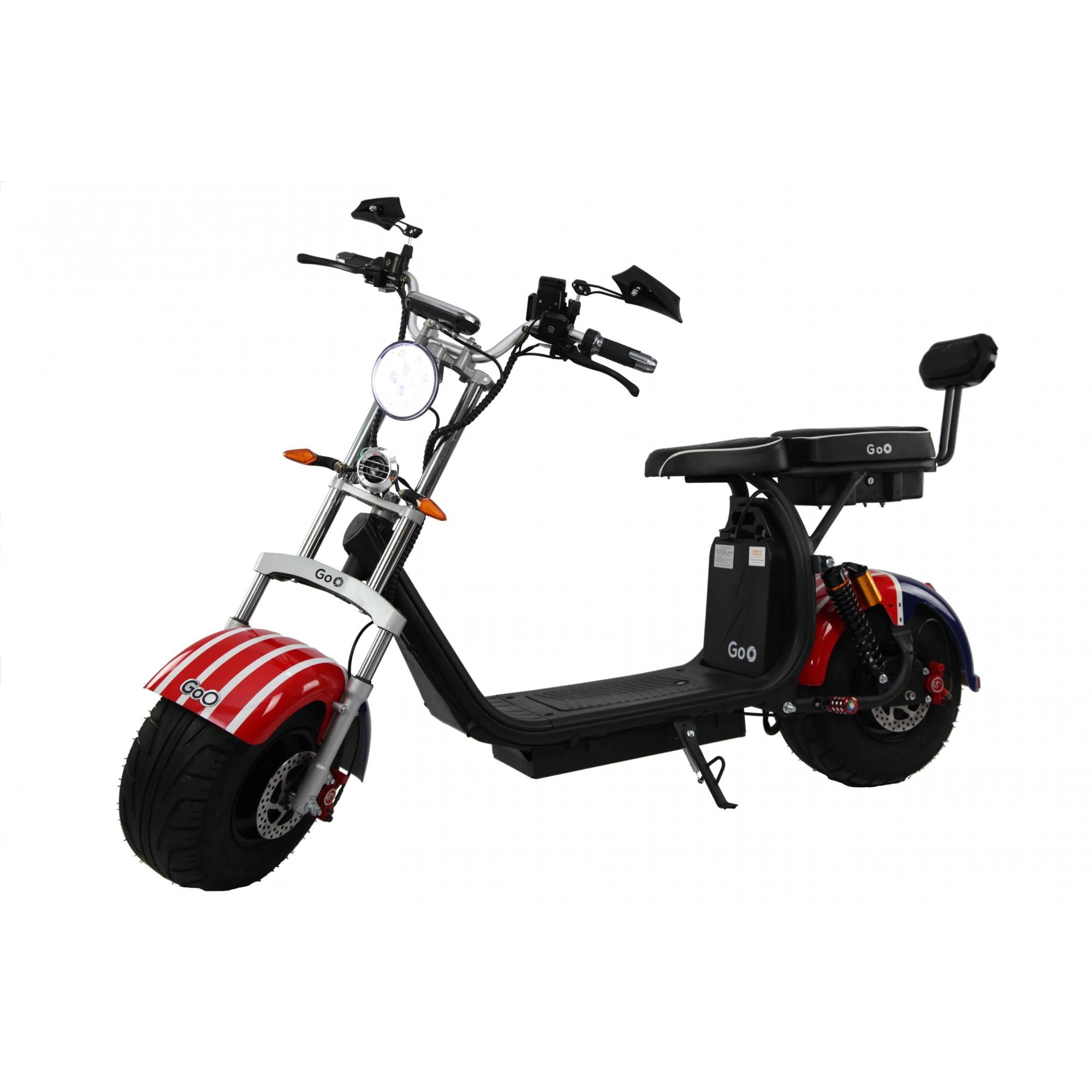 Jogo de Para-lamas USA com seta scooter elétrica citycoco