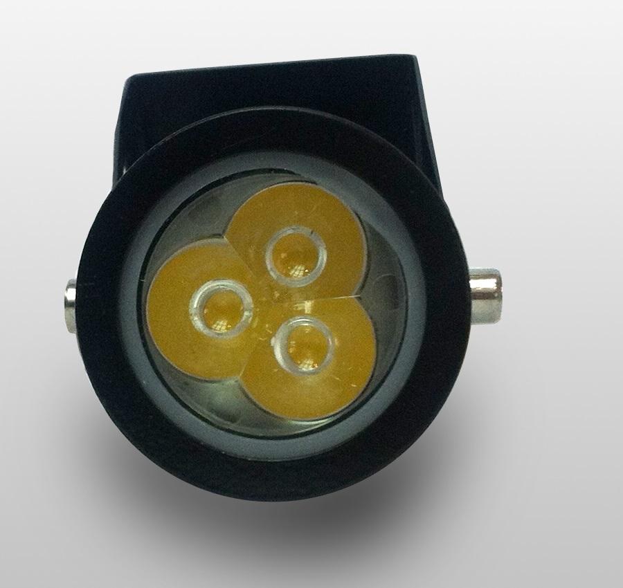 kit 10 luminária Espeto jardim LED 4W 6000w