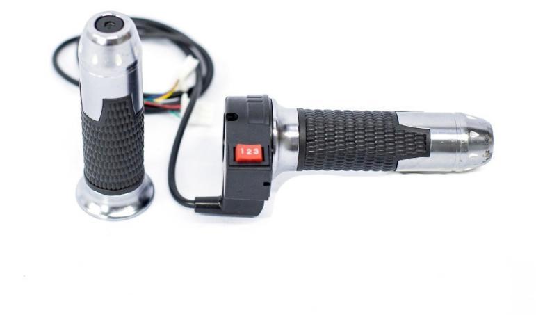 Manopla e acelerador para scooter elétrica citycoco