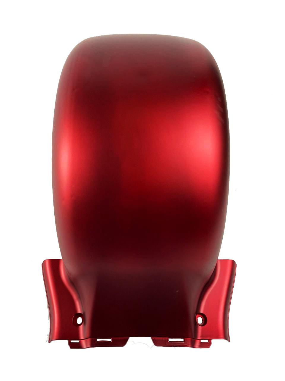 para-choque traseiro vermelho para scooter elétrica citycoco x14 chopper