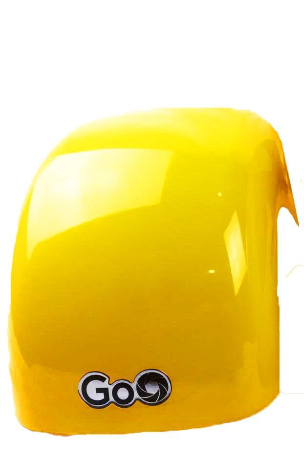 Para-lama Dianteiro amarelo para scooter elétrica citycoco