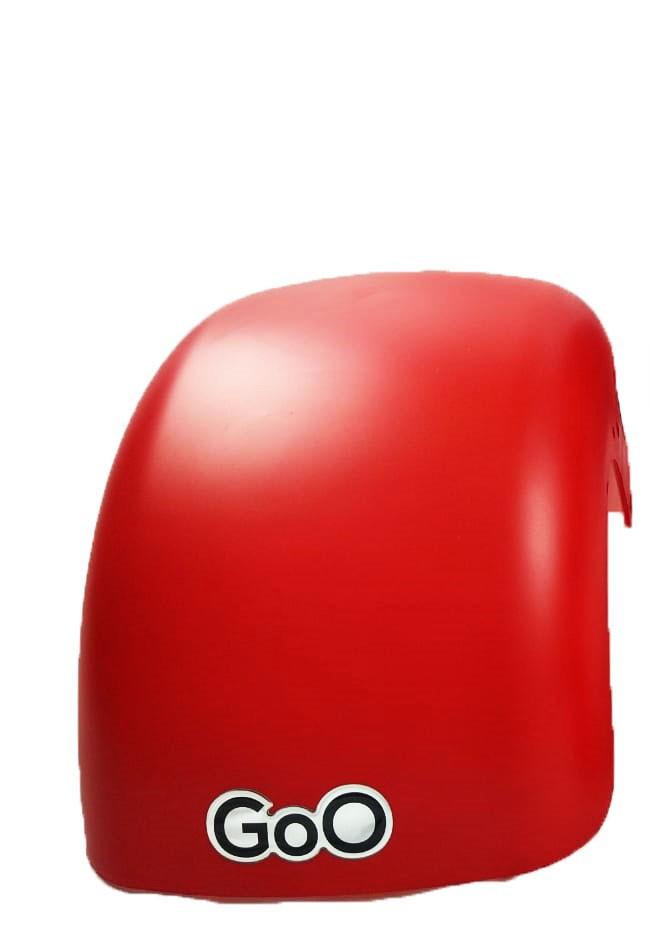 Para-lama Dianteiro vermelho fosco para scooter elétrica citycoco
