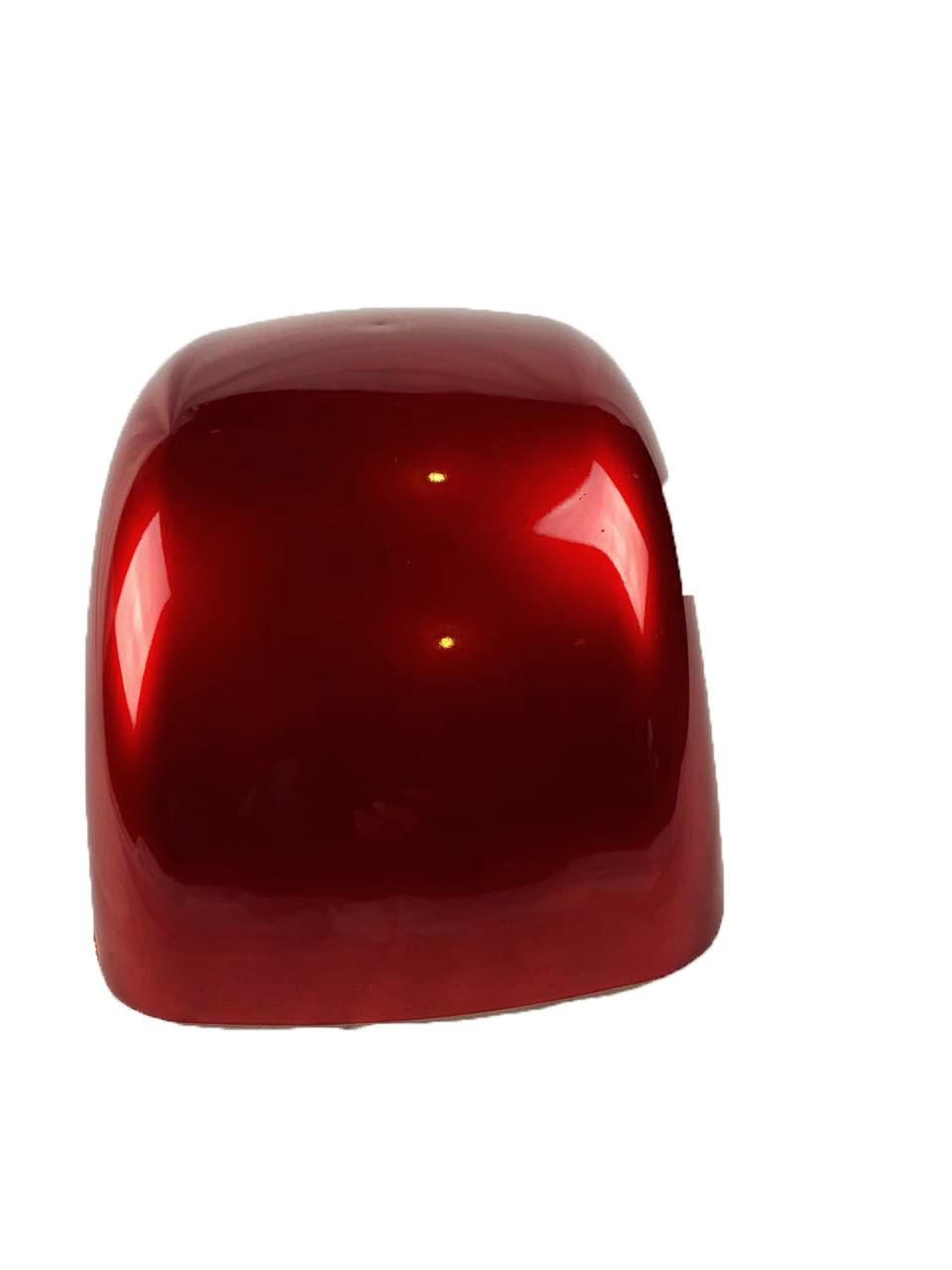 Para-lama Dianteiro vermelho metálico para scooter elétrica citycoco