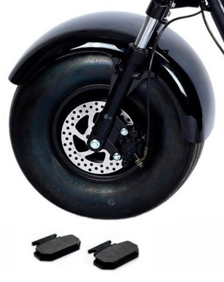 Pastilha de Freio para scooter elétrica citycoco