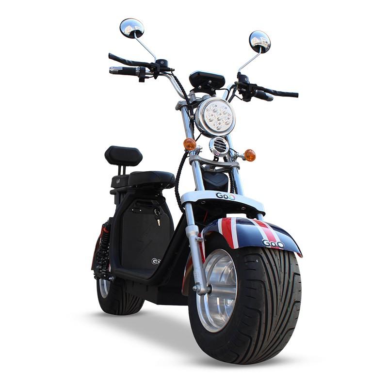 Scooter elétrica citycoco X12 3000W com bateria 32Ah