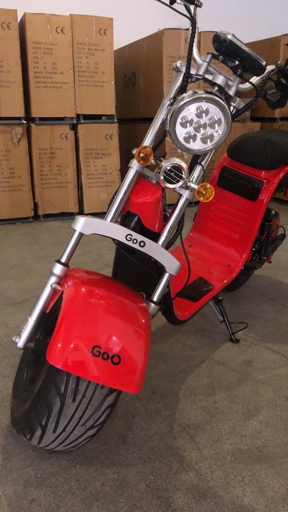 Scooter elétrica citycoco X13 2000W com bateria 20Ah