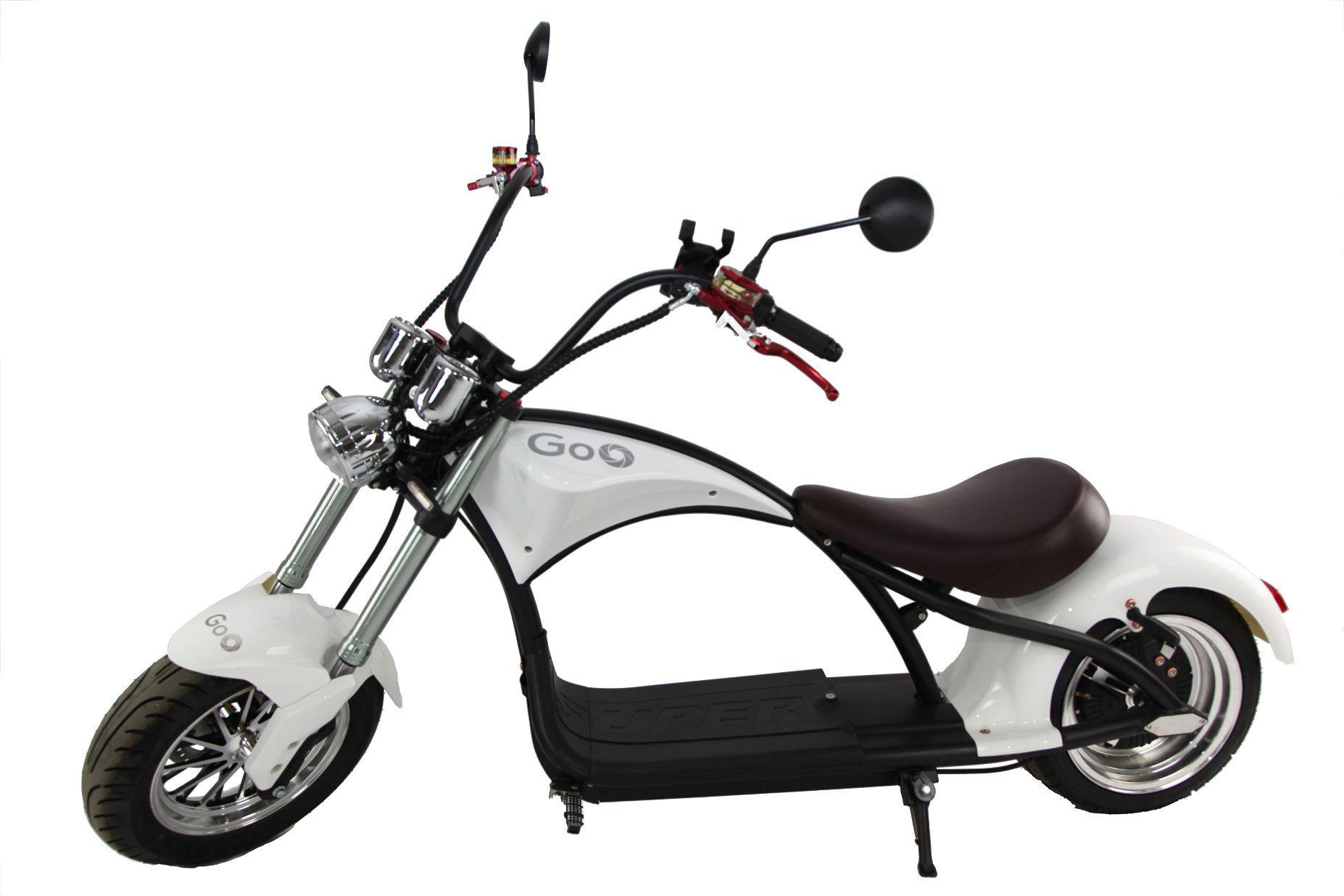 Scooter elétrica citycoco X14 2000W com bateria 20Ah